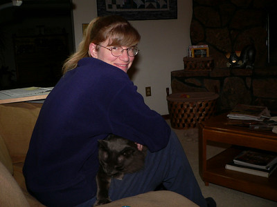 Dawn & Max, February 2005