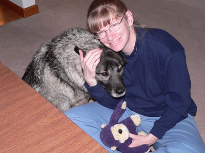 Riley and Dawn, December 2005