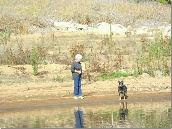 Margaret & Logan at the lake