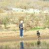 Margaret & Logan at the lake