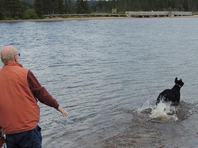 Sandy Pond, Terra Nova National Park, June 3, 2013
