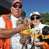 #106<br /> Owners: Dorthy and Fred Arevalos<br /> Dogs: Boo Bear, KoKo Puff and Chebaka<br /> Best Costume