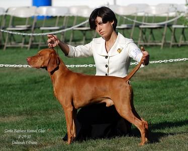 Santa Barbara Kennel Club 8-29-10 Deborah V Frane