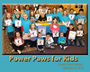 power Paws THE KIDS 8x10 frame