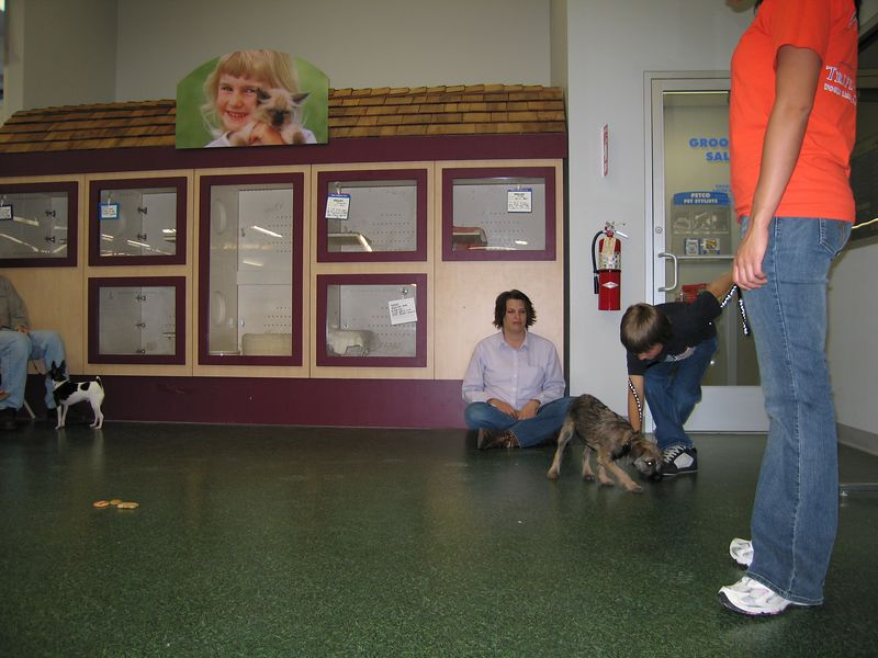 May 17, 2005 - Puppy school #4