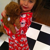 Granddaughter with grand-pup Ziggy!<br /> <br /> Photographer's Name: Brenda Caldwell<br /> Photographer's City and State: Anderson, Ind.