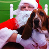 Junior and Santa<br /> <br /> Photographer's Name: Faye Baker<br /> Photographer's City and State: Anderson, Ind.