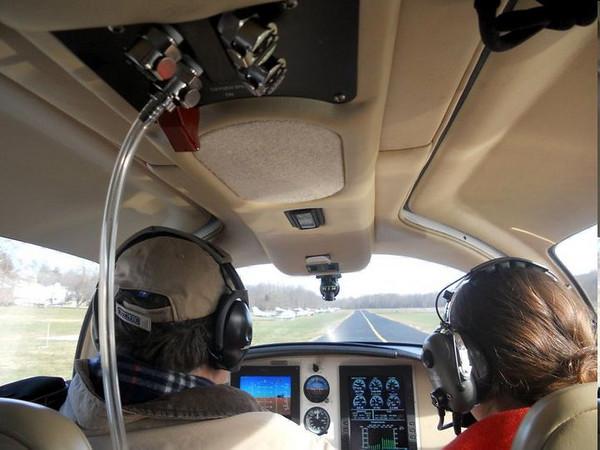 Take off at VKX
