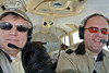 Mike, Digby and Jerry somewhere over VA.