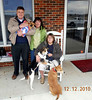 Picking up 3 dogs at Roxboro, NC. Rhonda (in the middle) has rescued over 300 dogs this year alone.