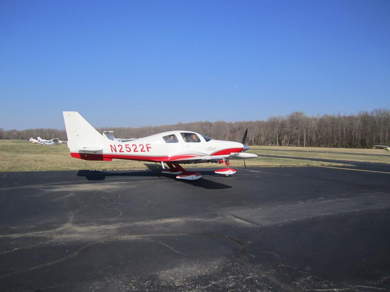 22F arriving at Potomac Airfield with the Precious Cargo on a beautiful day in DC!