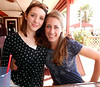 Emily and Kimberly from Alpha Omicron Pi from Rollins at Flager, FL.