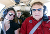 Megan, Jade and Mike at 9000 ft