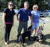 Megan, Bennett and Patty at Potomac Airfield,