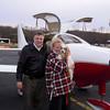 Mike and Lisa at Potomac Airfield (KVKX)