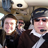 The Flight Crew: Emily, Andrew and Mike.