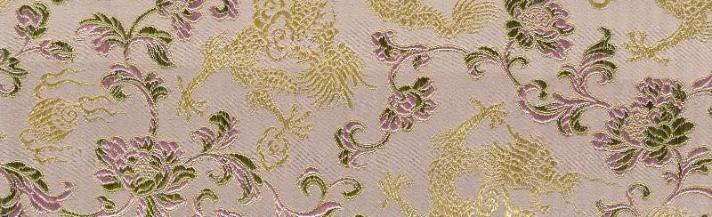 Silk Dragons pale mauve