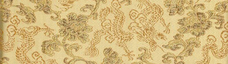 Silk Dragons pale gold