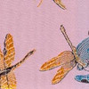Silk Dragonflies pink multi