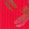 silk Dragonflies red rainbow