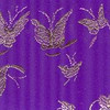 Silk Mini Butterflies Purple