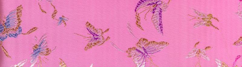 silk Butterflies Pink