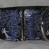 Silk Dragon cobalt silver