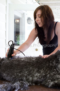Sophie gets a shave_250710_0021