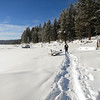 At Little Payette Lake, McCall.
