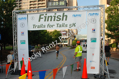 Trails for Tails Finish Line Photos
