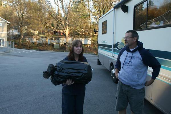 Reach Hospital staff person takes Beavis - Asheville, North Carolina