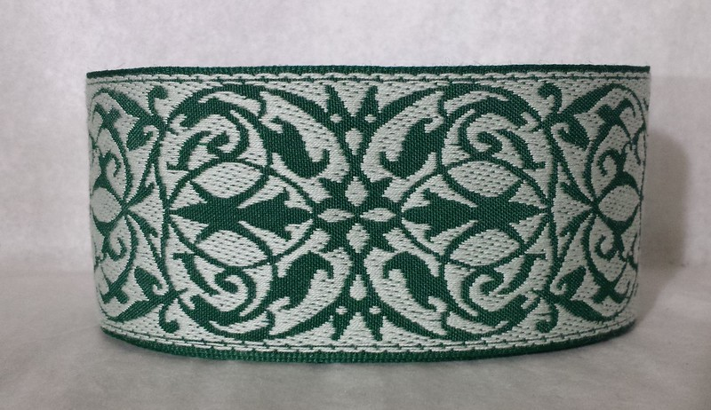 Tracery, light and dark green NEW!