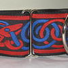 Celtic Beast, red and blue (OUT OF STOCK)
