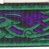 Celtic Beast~purple and green