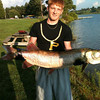 Pike caught at Glendale Lake<br /> <br /> Photographer's Name: Chris Mattis<br /> Photographer's City and State: Johnstown, PA