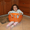 Spencer in a pumpkin<br /> <br /> Photographer's Name: Carol  Stouffer<br /> Photographer's City and State: Johnstown, PA