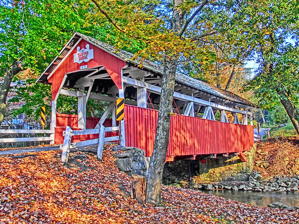 Shaffer Covered Bridge<br /> <br /> Photographer's Name: Donna Nemeth<br /> Photographer's City and State: Johnstown, PA
