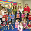 Mr. Sean Kovac, superintendent of North Star School District, visited Kantner 1 and 2 to read a story.  Mr. Kovac visited the classrooms as part of Pennsylvania's Promise for Children month in October.  The classrooms are part of Somerset County Early Childhood Education Department. <br /> <br /> Photographer's Name: Renee Keyser<br /> Photographer's City and State: Johnstown, PA