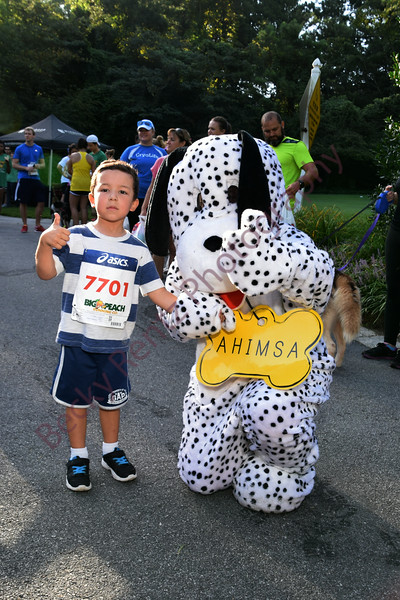 Walk Wag N' Run Post Race