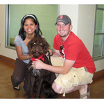 This is the adoption day; July of 2008 @ PAWS Chicago.