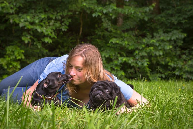 Amy, Rose & Vader