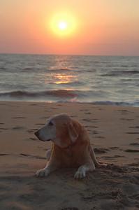 Virginia Beach at sunrise