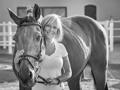 Gail and Prince Charming ... Al Ain ... UAE