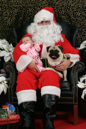 Pet Photos with Santa 2008