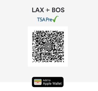 TSA Pre-Check and Apple Wallet...what would I do without them?