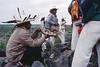 Préparatifs rituels précédant la récolte du peyotl. Indiens Huichols/Mexique