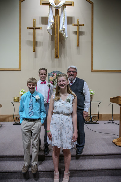 Peyton's Confirmation, 2018