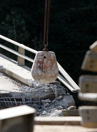 Pfeiffer Canyon Bridge Demo - 031617