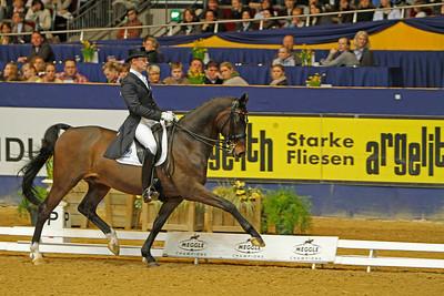 Das Finale der Meggle Champions 2010 in der Westfalenhalle Dortmund Matthias Rath auf Sterntaler Unicef