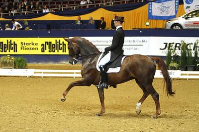 Das Finale der Meggle Champions 2010 in der Westfalenhalle Dortmund Hans Minderhoud auf Exquis Nadine